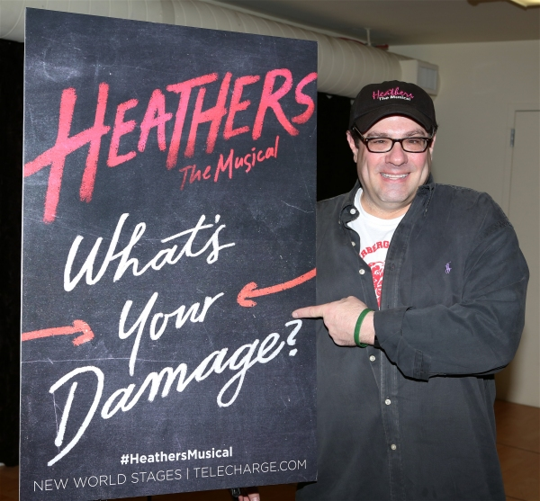 Director Andy Fickman attends the Meet & Greet the stars and creative team of ''Heathers The Musical'' on February 19, 2014 at The Snapple Theatre Center in New York City.