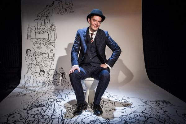 Photo Flash: First Look at Matthew Baldwin in THE ACT at Trafalgar Studios, Begin. 25 Feb