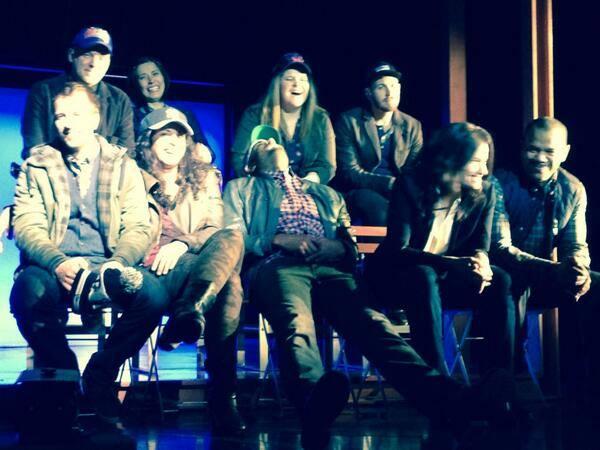 Sneak Peek Of Idina Menzel & IF/THEN Cast In Rehearsal