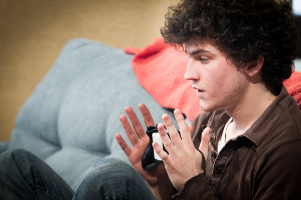 Photo Flash: In Rehearsal for Steppenwolf for Young Adults' Chicago Premiere of LEVELING UP