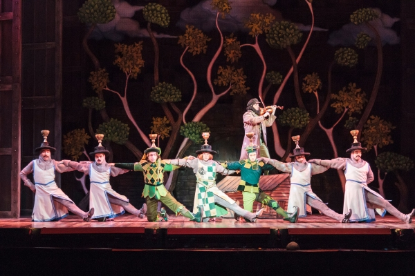 Photo Flash: First Look at Louis Hobson, Laura Griffith and More in 5th Avenue's SPAMALOT
