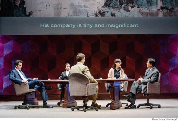 Peter O''Connor (Daniel Cavanaugh, the American businessman), Tina Chilip (Xi Yan, the Vice Minister of Culture), Jeff Locker (Peter Timms, an Englishman acting as a consultant in China), Rachel Lu (Miss Qian, the interpreter), Jian Xin (Cai Guoliang, the