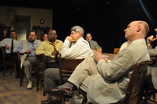 Photo Flash: 12 ANGRY MEN Opens Tonight at Lakewood Playhouse
