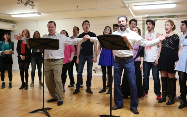 Photo Coverage: What's Your Damage? In Rehearsal with the Cast of HEATHERS: THE MUSICAL