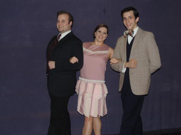 Jordan B. Stocksdale as Don Lockwood and Joseph Waeyaert as Cosmo Brown Photo