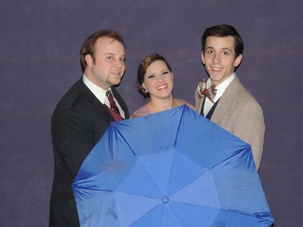 Jordan B. Stocksdale as Don Lockwood, Jaimie Lea Kiska as Kathy Selden, and Joseph Wa Photo