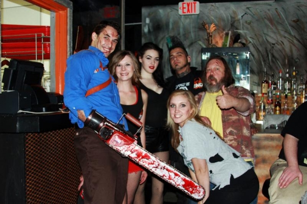 Photo Flash: EVIL DEAD Hosts Zombie Viewing Party at The End