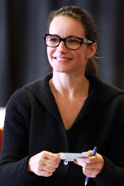 Photo Flash: In Rehearsal for FATAL ATTRACTION with Natascha McElhone, Kristin Davis & More!