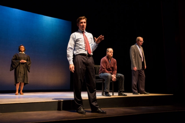 Photo Flash: First Look at Anthony Lawton, Megan Bellwoar and More in DTC's THE EXONERATED