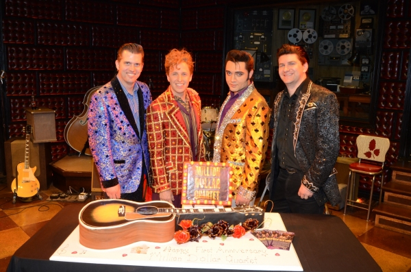 Photo Flash: MILLION DOLLAR QUARTET Celebrates One Year in Las Vegas