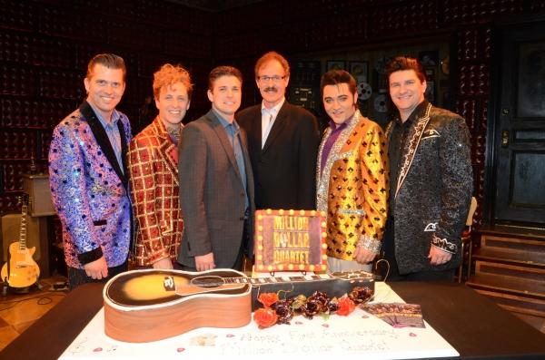 Photo Flash: MILLION DOLLAR QUARTET Celebrates One Year in Las Vegas