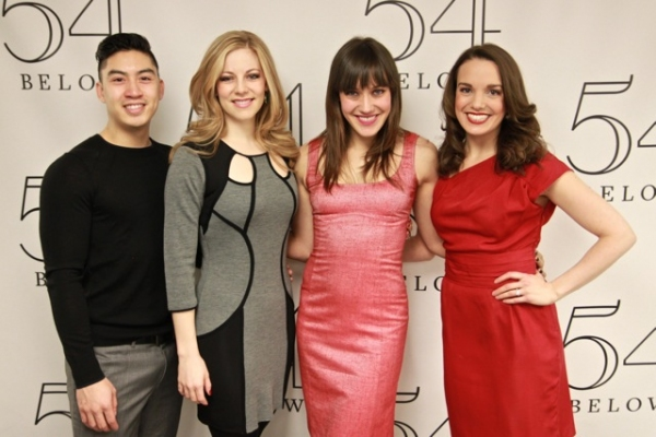 Devin Ilaw, Kirsten Scott, Thea Brooks and Kara Lindsay Photo