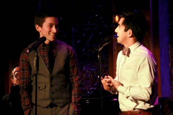 Stephen Joshua Thompson and Aaron Albano Photo