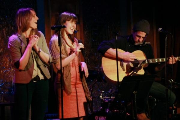Susan Goodwillie, Thea Brooks and Joe Tippett