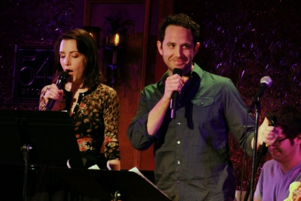 Photo Flash: Kara Lindsay, Kevin Massey and More in A VERY BROADWAY VALENTINE'S DAY at 54 Below