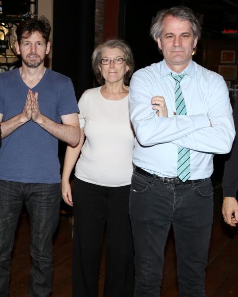 Tim Wright, Cass Morgan and Director Bartlett Sher Photo