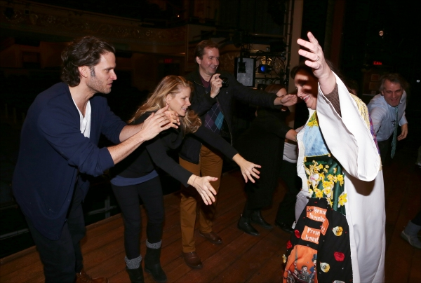 Steven Pasquale, Kelli O'Hara, ,Jennifer Allen and Director Bartlett Sher