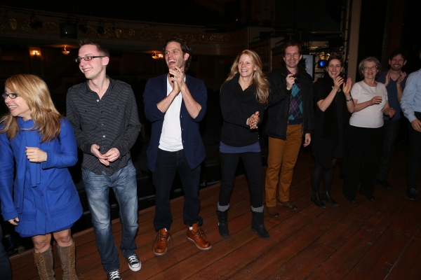 Steven Pasquale, Kelli O'Hara, Cass Morgan, Tim Wright and Company