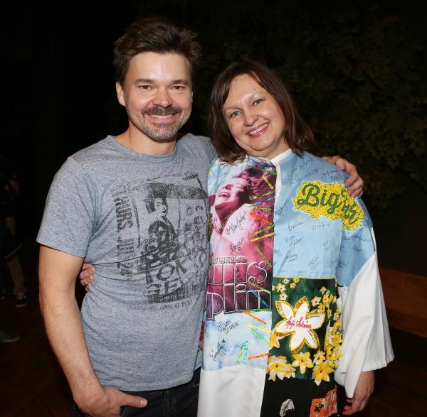 Hunter Foster and Jennifer Allen