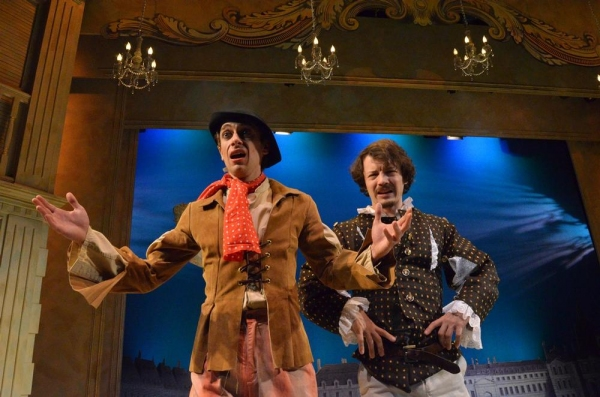 Photo Flash: First Look at THE LIAR at Centenary Stage Company
