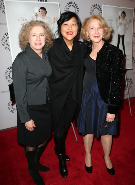 Producer Elizabeth Hemmerdinger, director Chiemi Karasawa, and producer Cheryl Wisenfeld