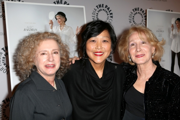 Producer Elizabeth Hemmerdinger, director Chiemi Karasawa, and producer Cheryl Wisenfeld