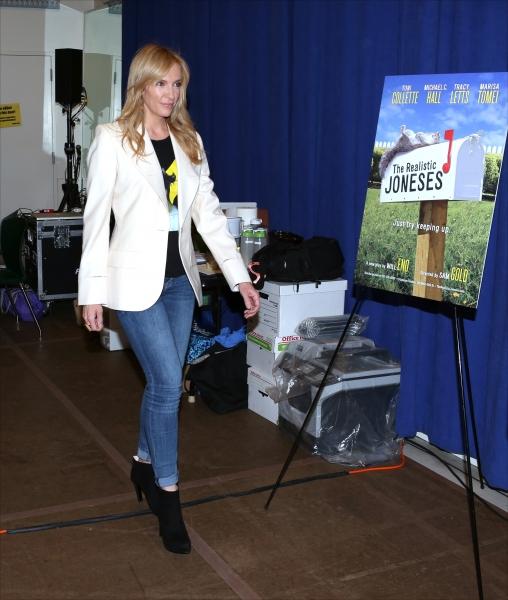 Photo Coverage: THE REALISTIC JONESES Company Meets the Press!