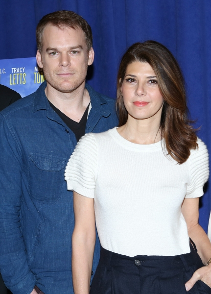Michael C. Hall and Marissa Tomei