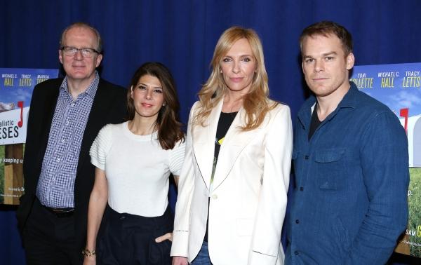 Tracy Letts, Marissa Tomei, Toni Collette and Michael C. Hall Photo