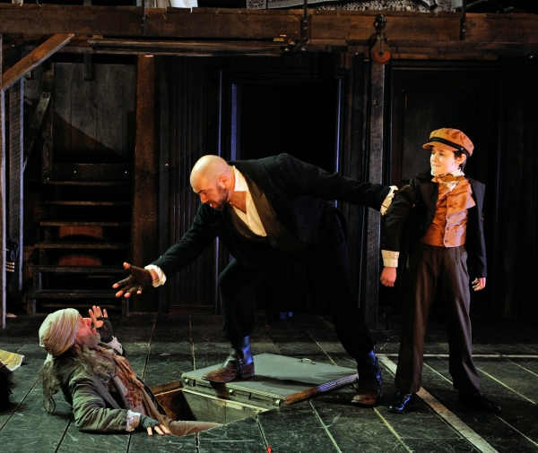 Photo Flash: First Look at Phineas Peters, Rachael Warren and More in Trinity Rep's OLIVER!