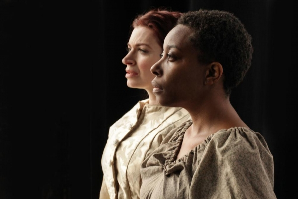Sydney Charles as Dessa Rose and Harmony France as Ruth