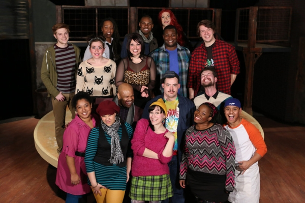 Photo Flash: First Look at Anna Skidis, Evan Fornachon and More in New Line Theatre's RENT