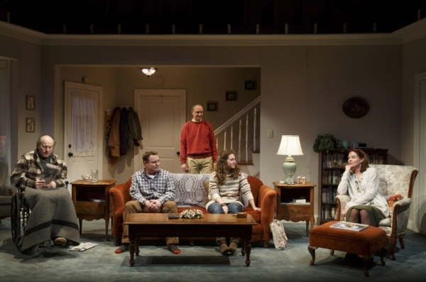 Photo Flash: First Look at Signature Theatre's THE OPEN HOUSE with Carolyn McCormick, Peter Friedman & More
