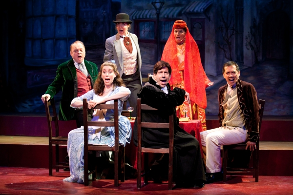 Photo Flash: First Look at Riverdale Repertory Company's THE MYSTERY OF EDWIN DROOD