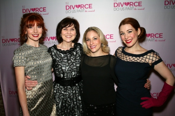 Photo Flash: TIL DIVORCE DO US PART: THE MUSICAL Celebrates Opening Night