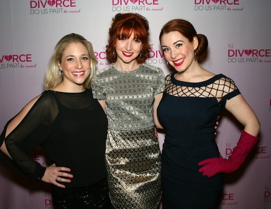 The ladies of Til Divorce Do Us Part, Dana Wilson (left) Erin Mcguire (center) and Gretchen Wylder