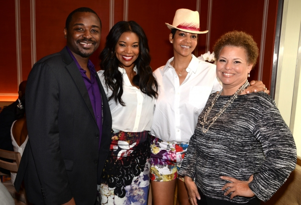 Gabrielle Union, Debra Lee, Tracy Wilson Mourning and Ailey Artistic Director Robert Battle