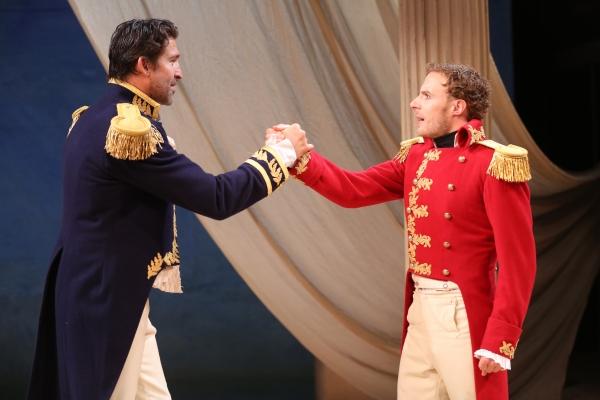 Jonathan Cake and Samuel Collings
