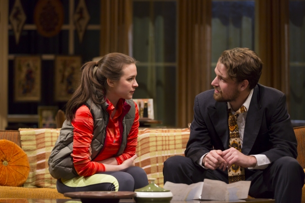 Photo Flash: First Look at Long Wharf Theatre's 4000 MILES by Amy Herzog