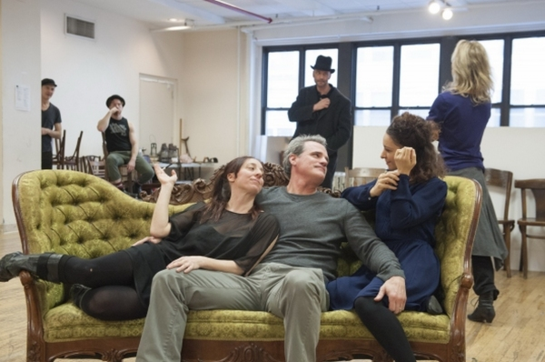 Photo Flash: In Rehearsal with Laura Osnes, F. Murray Abraham, Lilli Cooper & More for Atlantic Theater Company's THE THREEPENNY OPERA