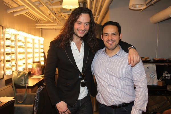 Constantine Maroulis and Ruben Flores