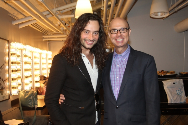 Constantine Maroulis and Richie Ridge