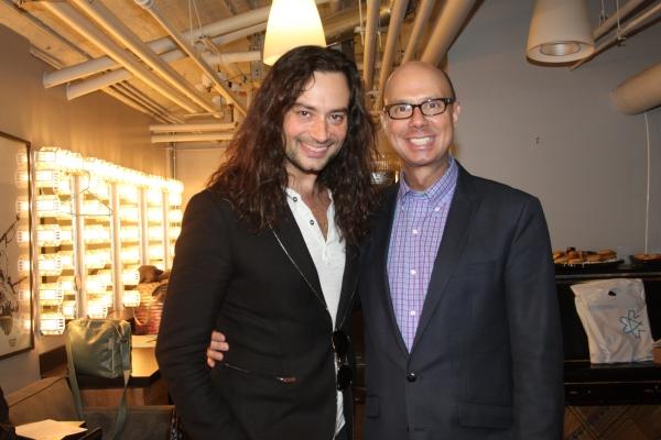 Constantine Maroulis and Richie Ridge