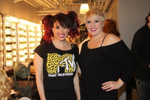 Lesli Margherita and Natalie Joy Johnson