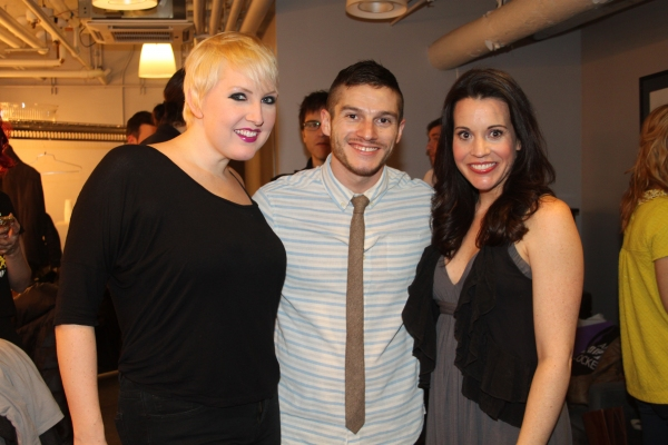 Natalie Joy Johnson, Todd Buonopane and Jenna Leigh Green