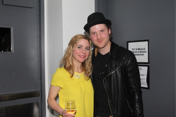 Photo Coverage: BroadwayWorld.com Backstage at FLY: A MUSICAL TRIBUTE TO DAMON INTRABARTOLO