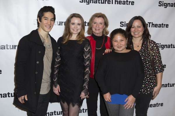 Cole Horibe, Phoebe Strole, Linda Lee Cadwell and Shannon Lee Photo