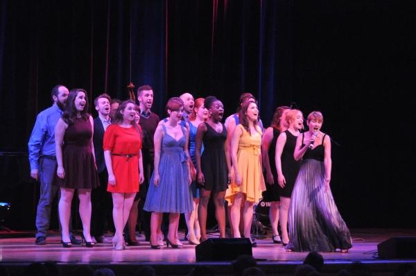 Lari White and The Broadway By The Year Chorus-Ally Bonimo, Sean Buhr, Paula Buresh,  Photo