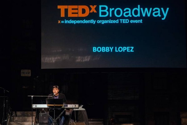 Photo Flash: Diane Paulus, Robert Lopez & More Take the Stage for 2014 TEDxBROADWAY
