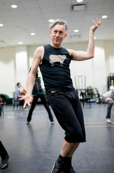 Photo Flash: Willkommen! In Rehearsal with Alan Cumming and The Kit Kat Klub Boys & Girls for Roundabout's CABARET Revival